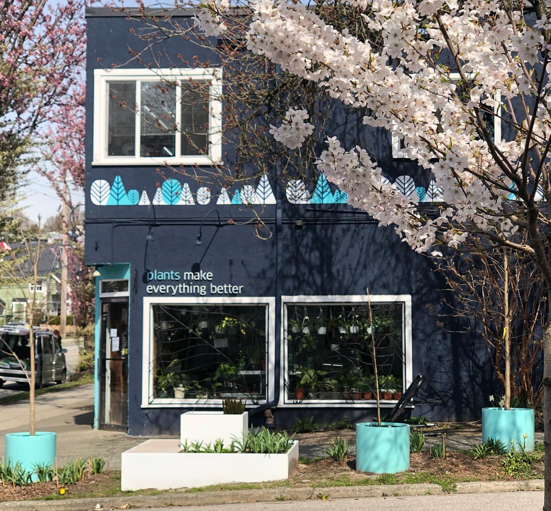 Figaro's Garden Plant Shop, East Vancouver