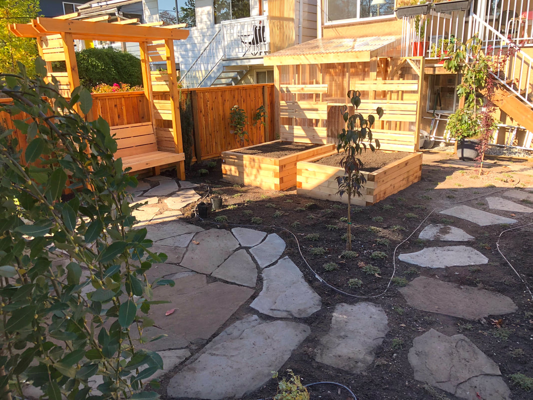East 13th Back and Front Garden Makeover