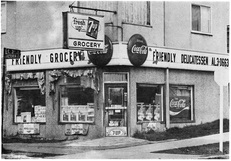 Friendly Grocery 1980